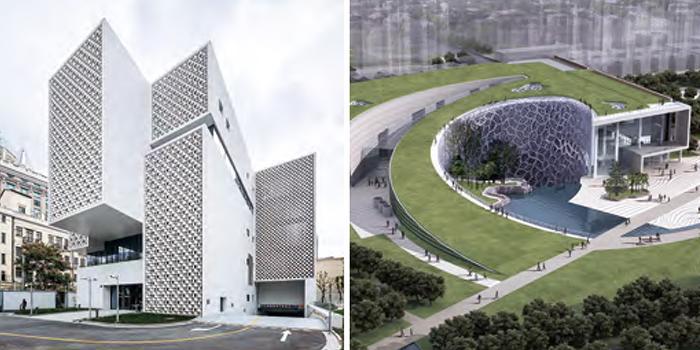 细部设计与建造完成精良的文化项目:上海棋院和上海自然博物馆