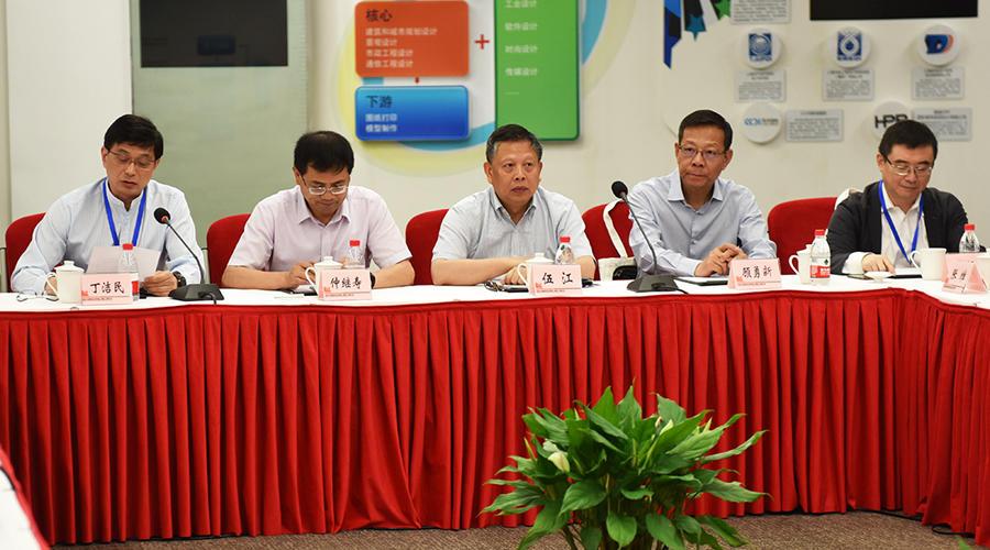 上海修建学会副理事长、同济大学建筑设计研究院(集团)有限公司总裁丁洁民谈话