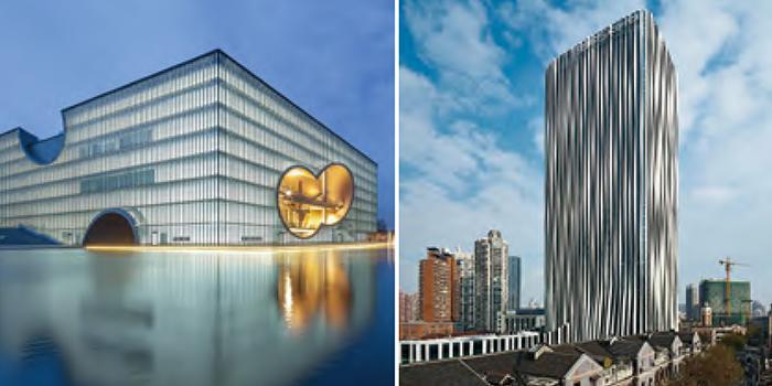 与境外著名建筑师的合作项目:嘉定新城保利大剧院和上海市虹口区海南路10号地块项目