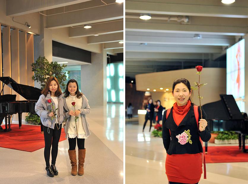 整个设计院在温馨浪漫的氛围中,开启了这美好的一天。