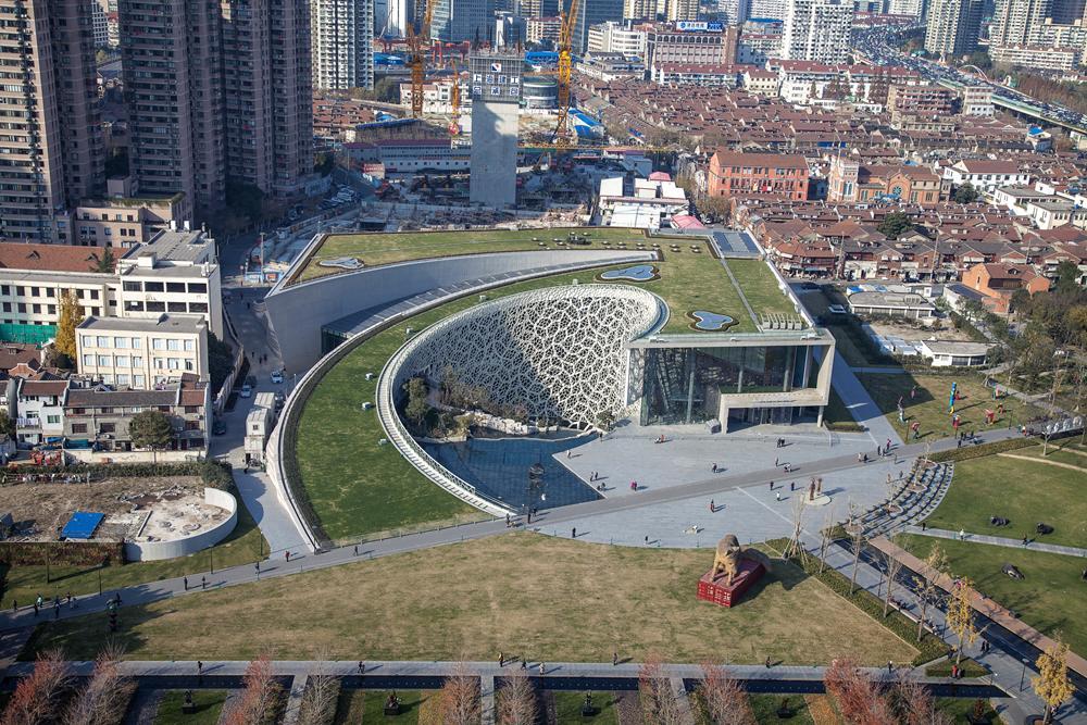 上海自然博物馆获杰出工程勘察设计项目