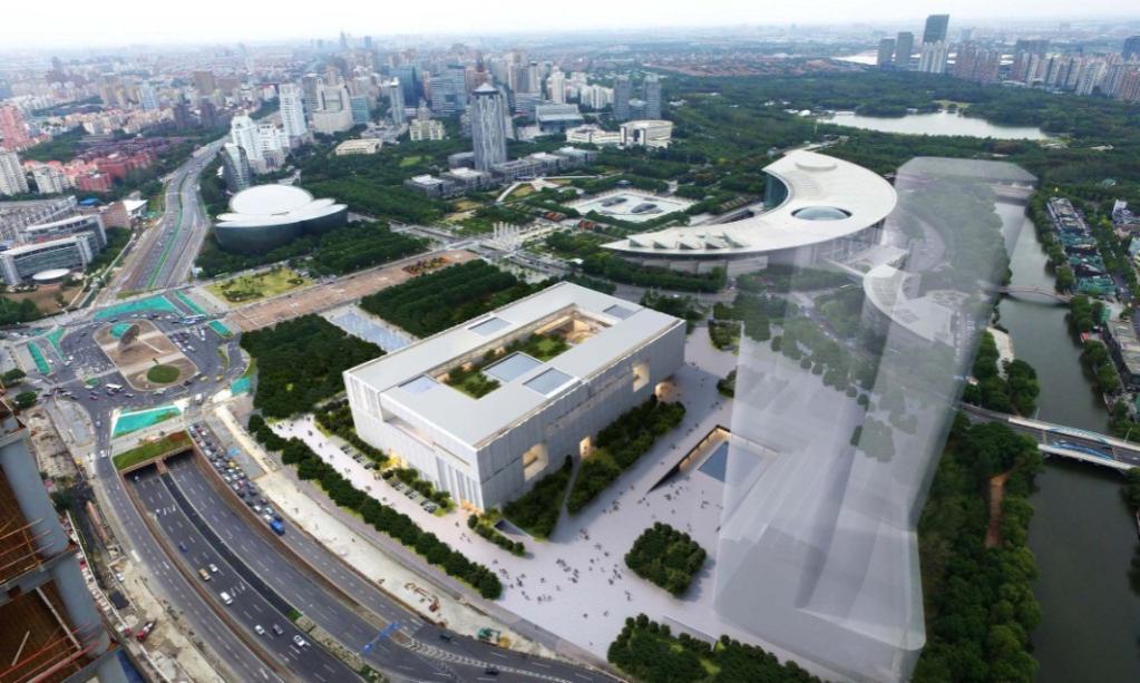上海博物馆东馆新建工程     装配式钢结构