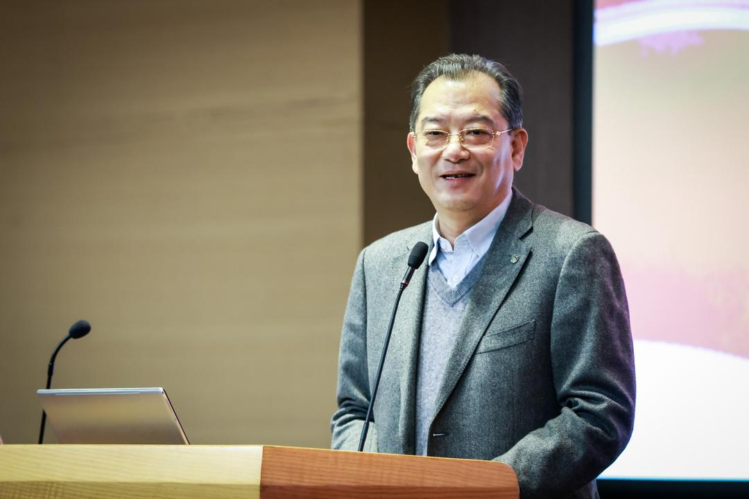 同济大学副校长雷星晖发表讲话