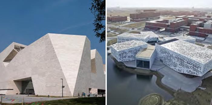 基于环境关系与建筑性格表达的山东省美术馆和南开大学津南校区大学生活动中心