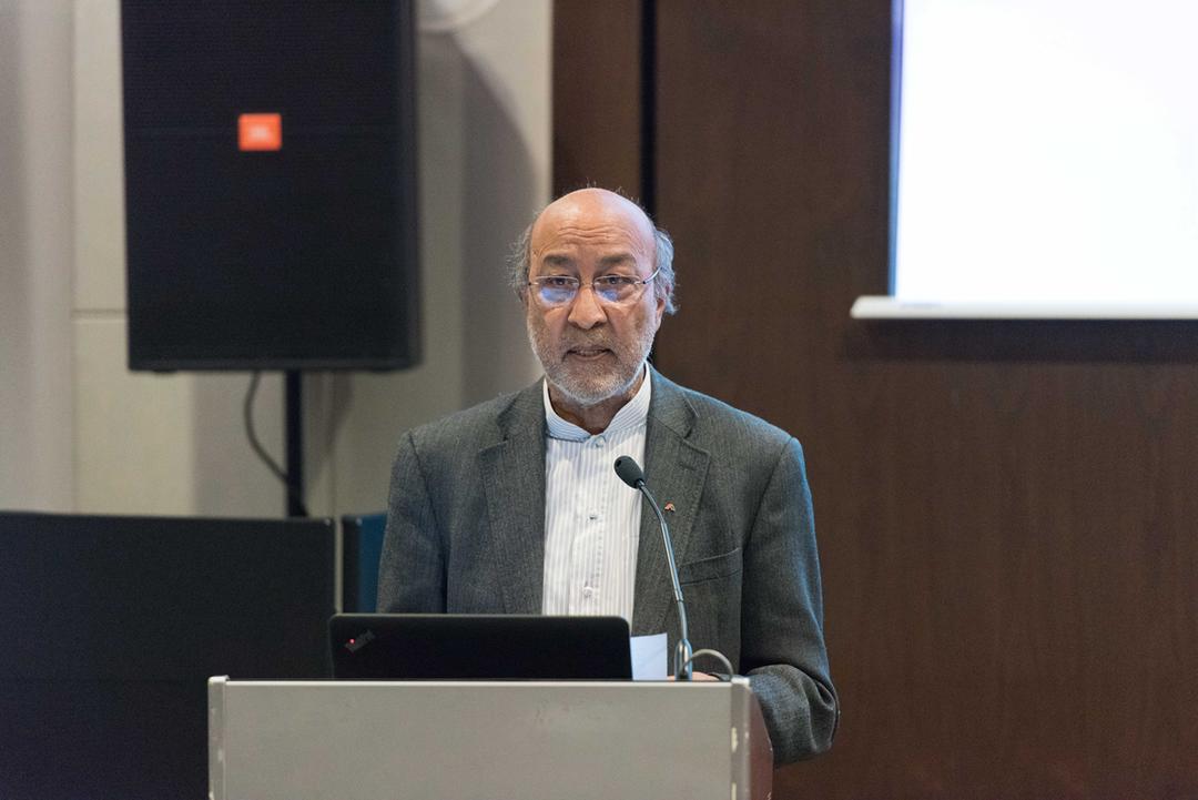 IABSE杰出结构奖评奖委员会主席Naeem Hussain先生