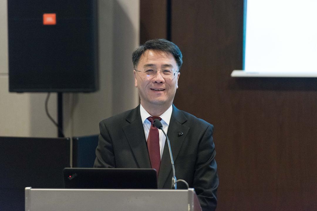 上海中心大厦建设发展有限公司总经理顾建平先生