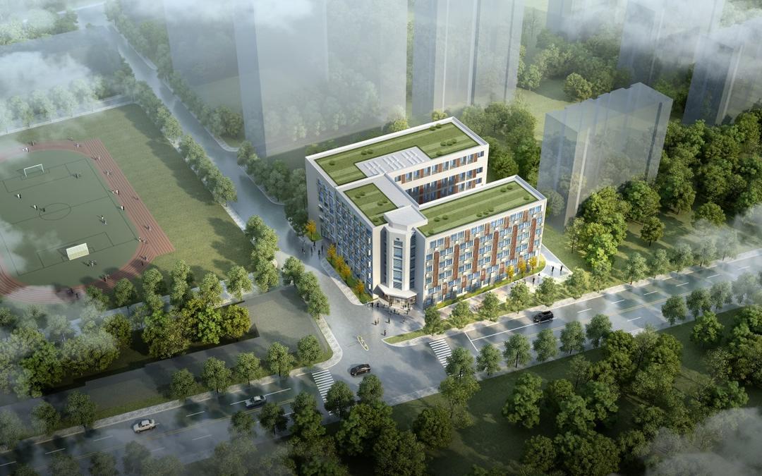 """上海工程技术大学长宁校区""""原教学实习工厂楼"""""""