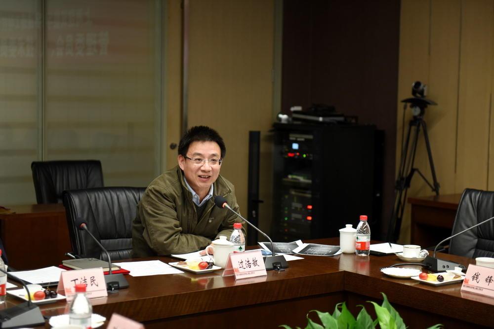 上海市科委基地处过浩敏处长
