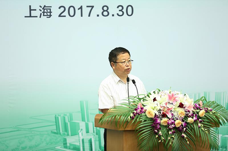 上海市建筑学会理事长 曹嘉明