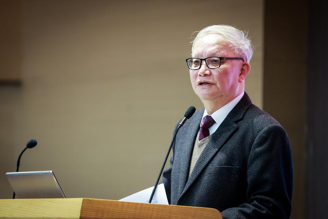集团董事长郑时龄院士发表讲话