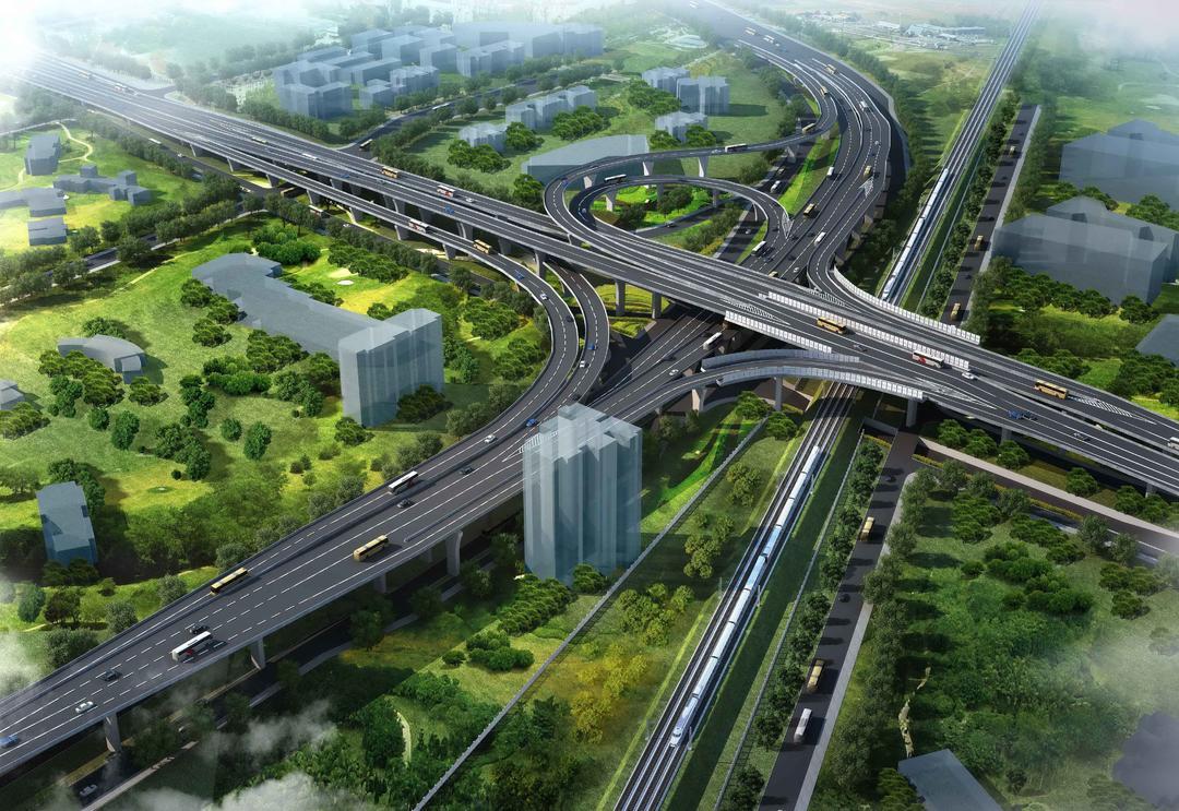 太原市环线道路建设工程—东中环、南中环、西中环、北中环建设工程项目(合作设计,集团承担其中部分复杂节点设计)
