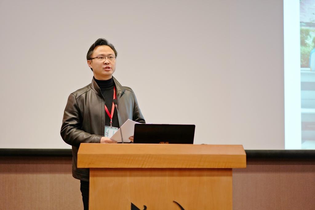 报告主持人张峥 同济设计集团工程技术研究院