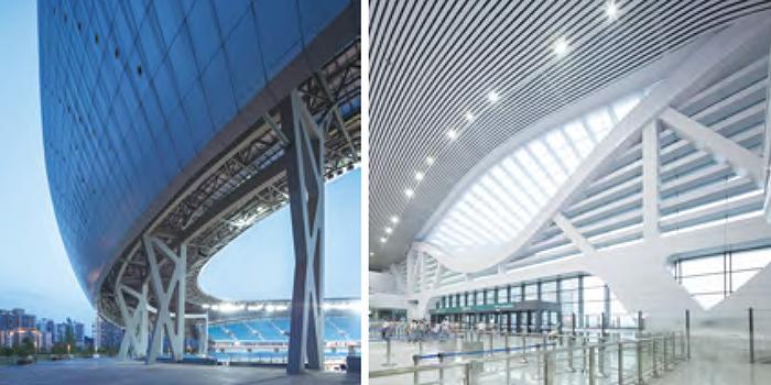 专业技术支撑下的大跨度建筑项目:遂宁市体育中心和铁路宁波站改造工程