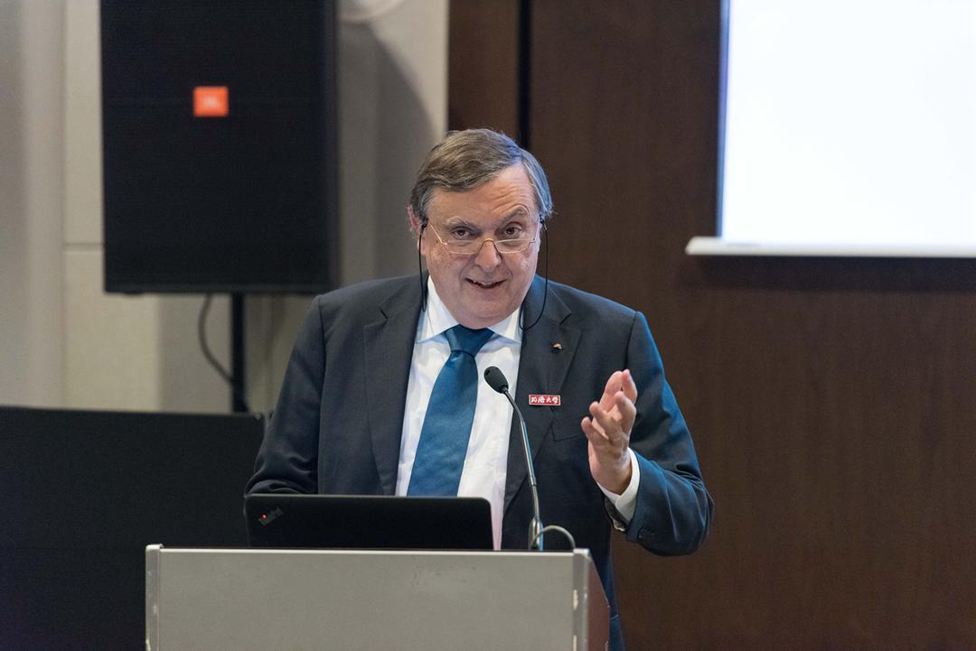 IABSE主席Fernando Branco博士