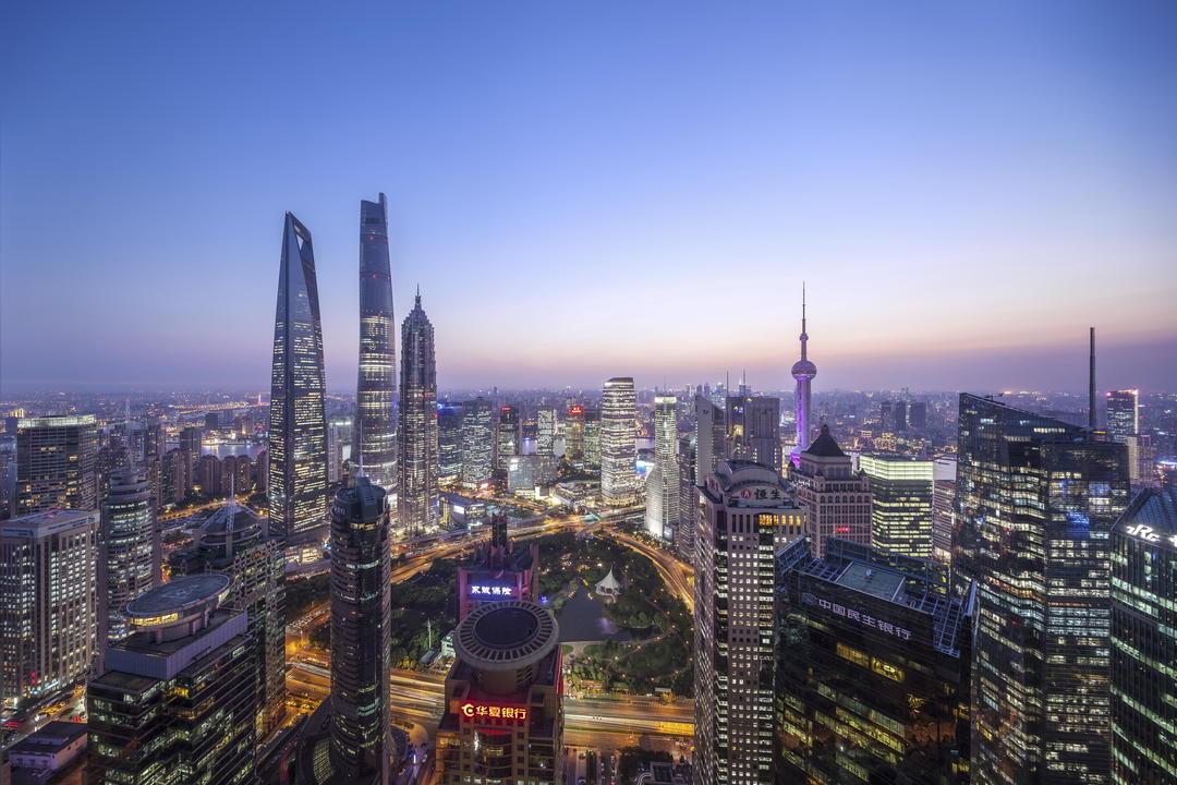 上海中心大厦夜景