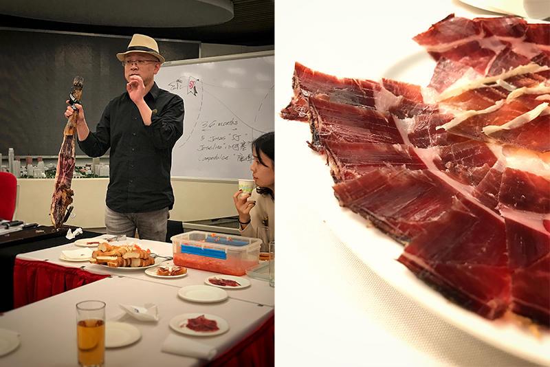 品鉴西班牙特征火腿饮食文化