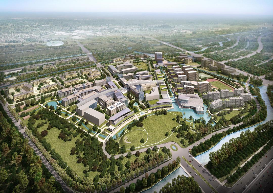 上海科技大学鸟瞰