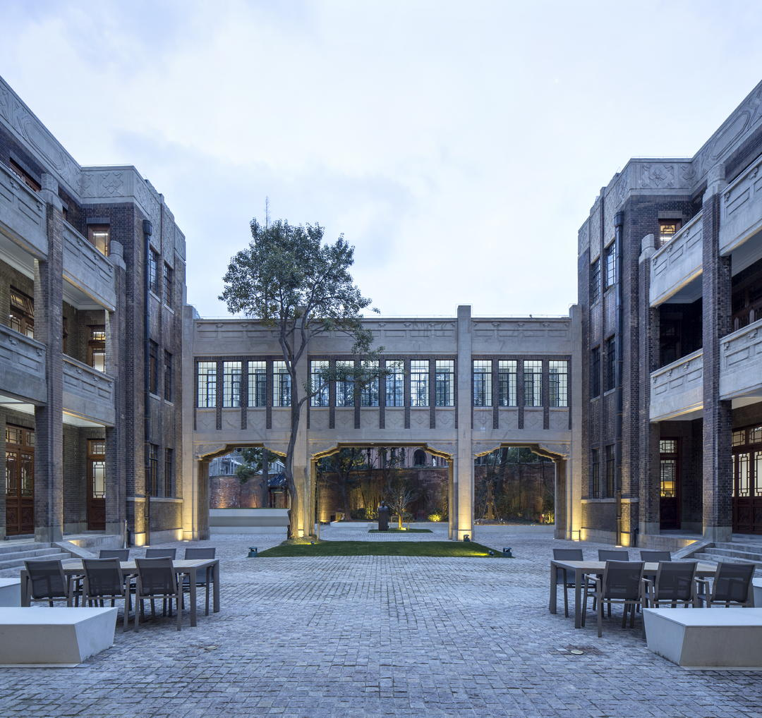 中央庭院Central courtyard